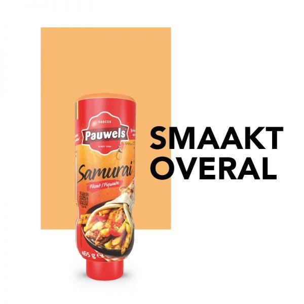 Smaakt Overal – Samurai